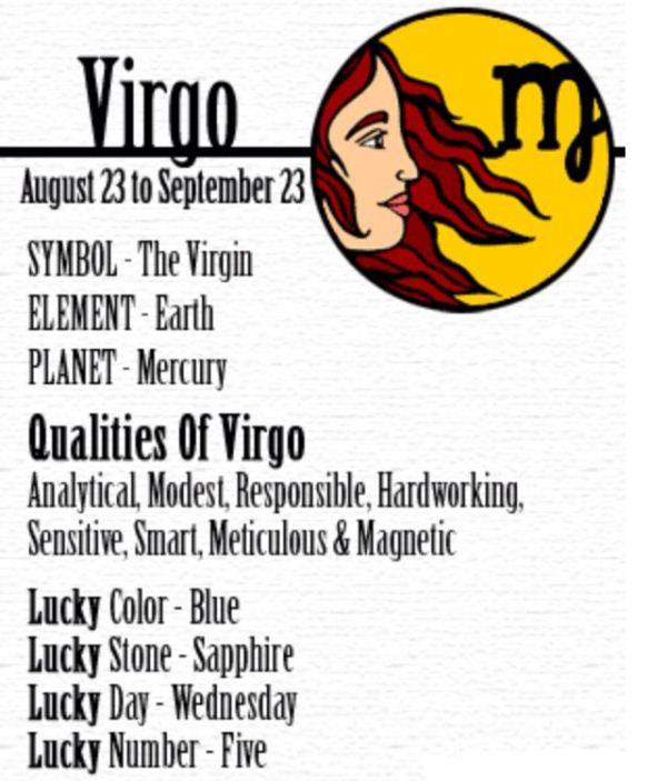 August Birth Sign Virgo Qualities