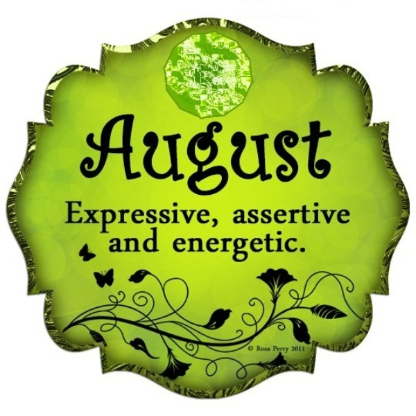 August Birth Sign and Birth Stone
