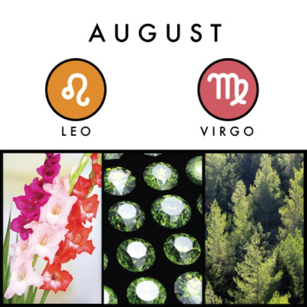 August Birth Sign and Symbols