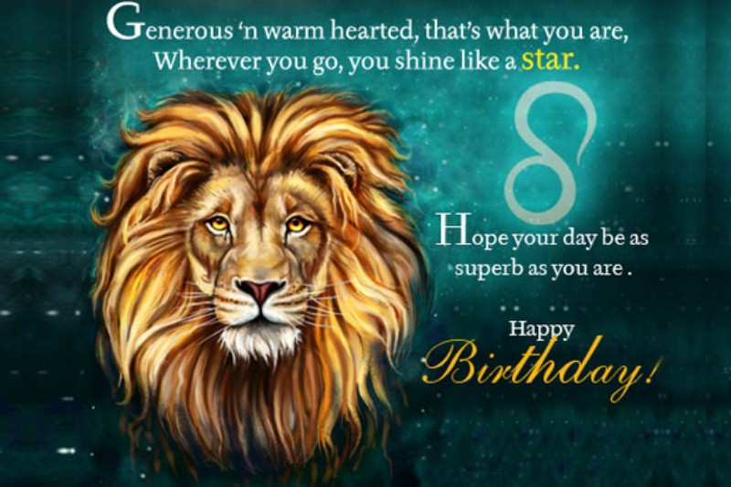 August Birthday Horoscope