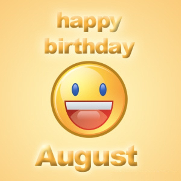 August Birthday Images Funny