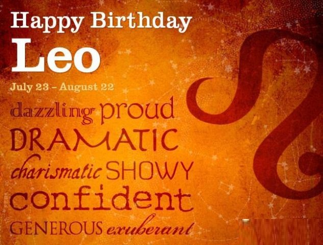 August Birthday Quotes For Leo