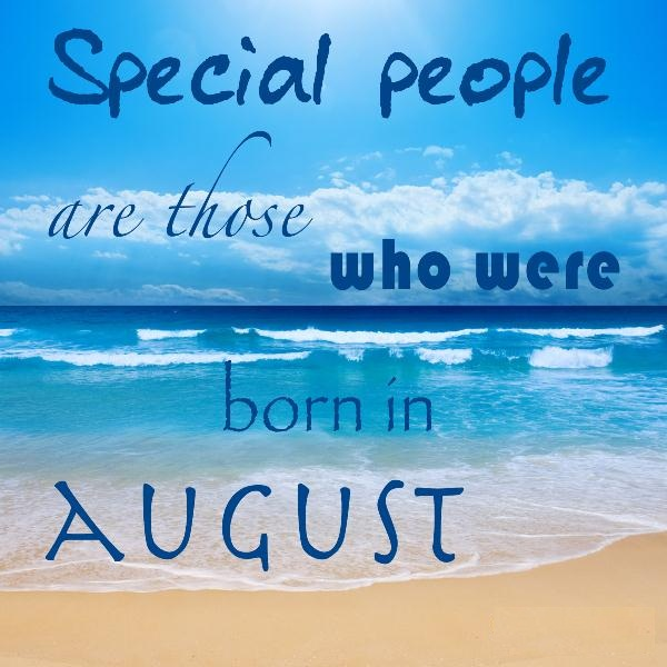 August Birthday Quotes Images