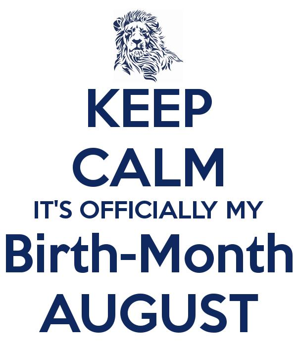 August Birthday Quotes Tumblr