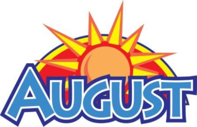 August Clipart Free