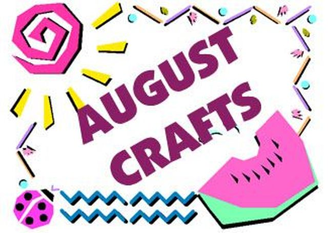 August Clipart Images Free