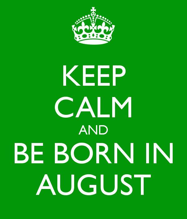 Born In August Month