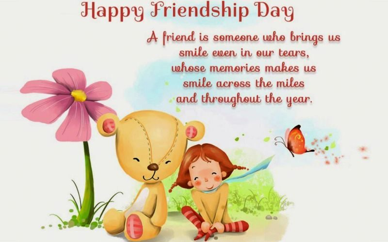Cute Friendship Day Greeting Cards
