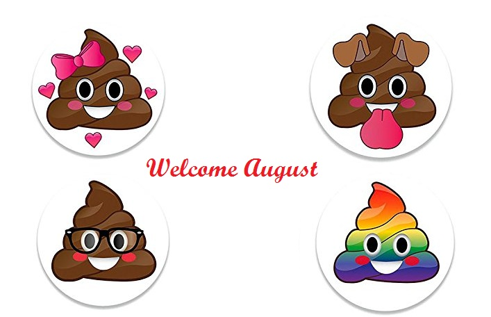 Cute Welcome August Images