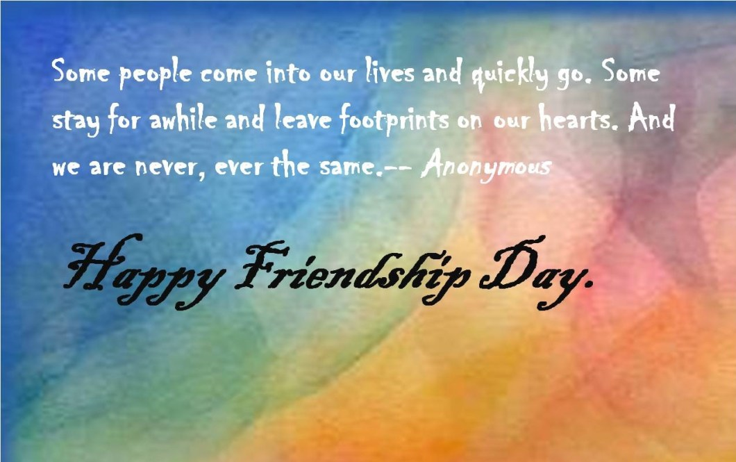 Friendship Day Quotes Messages Greetings