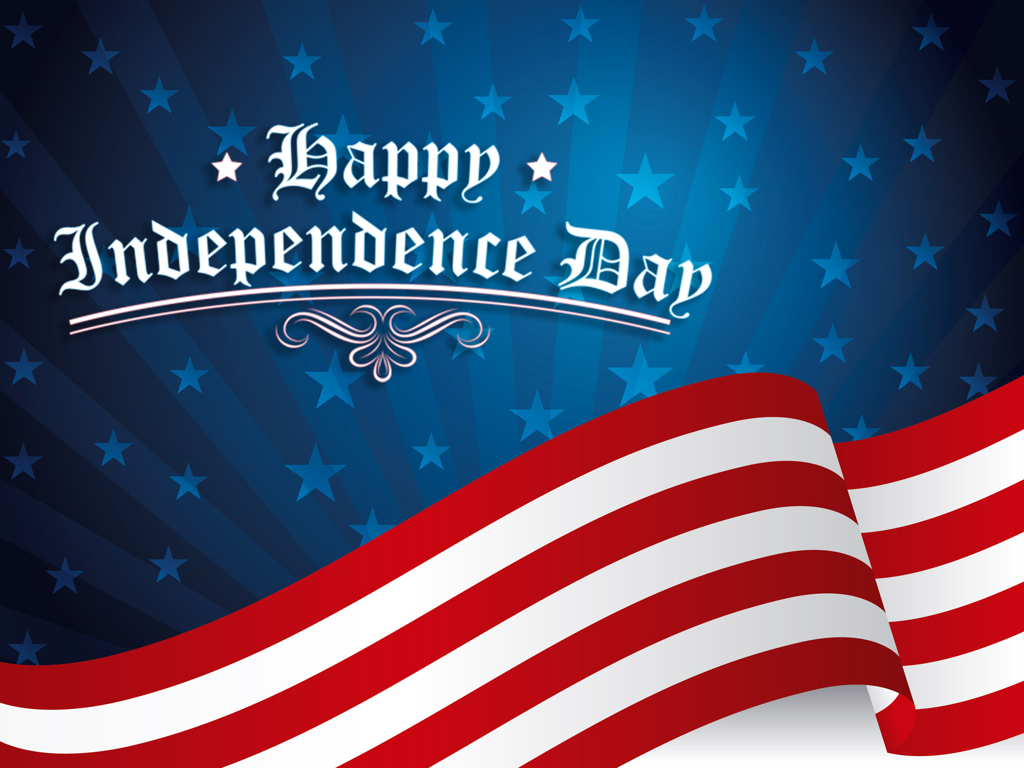 Happy 4th July Independence Day Celebration