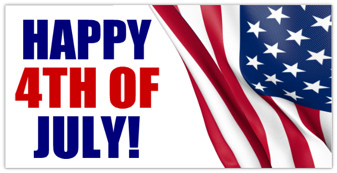 Happy 4th Of July Banner HD Image