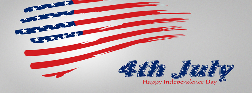 Happy 4th Of July Banner Image