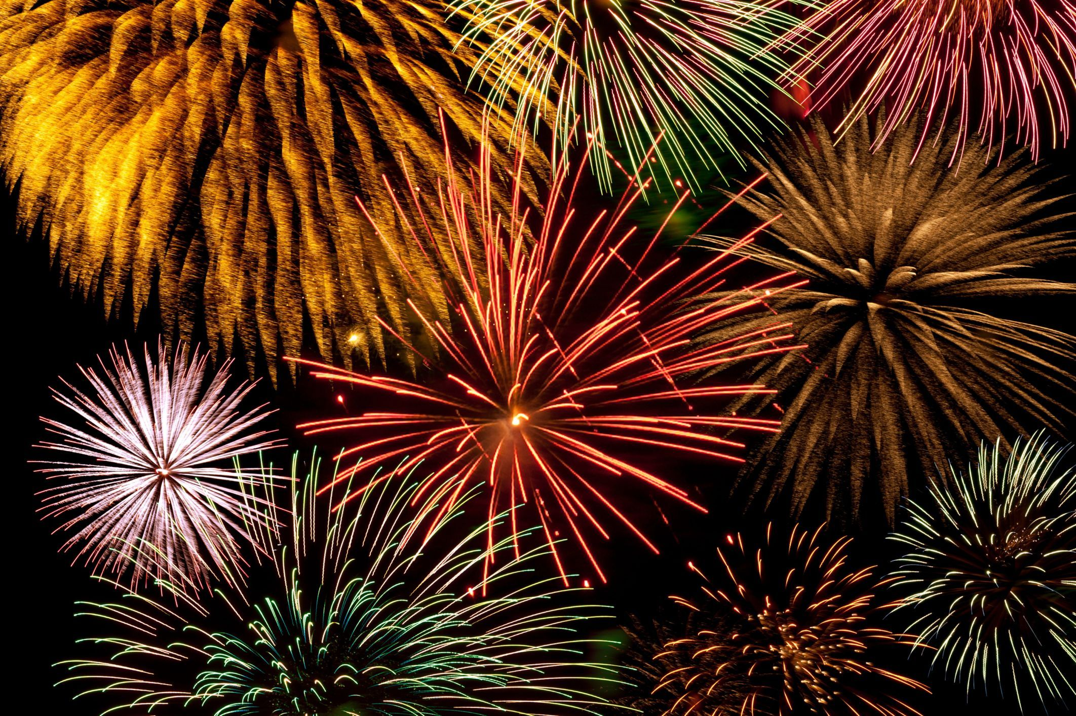 Happy 4th Of July Fireworks