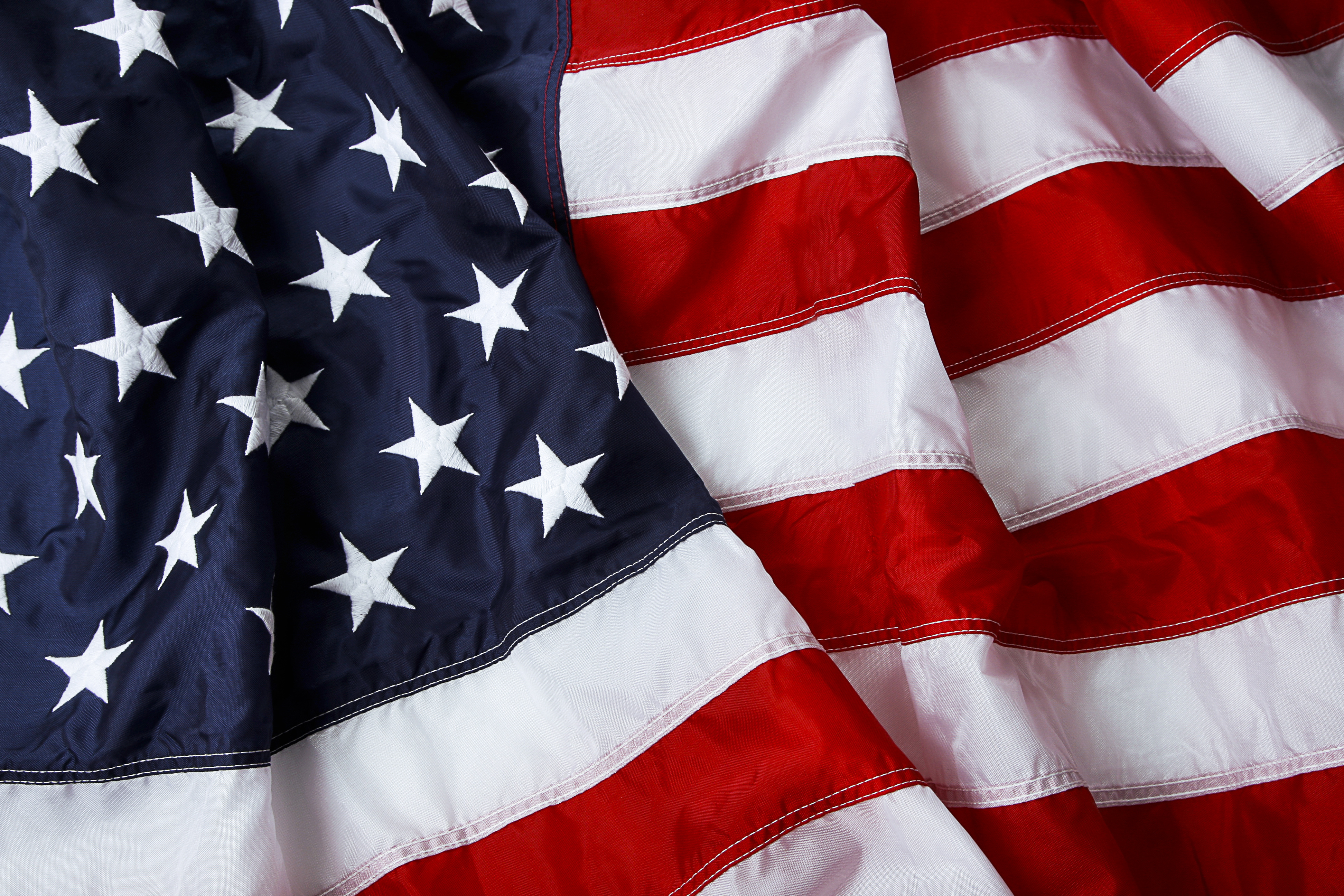 Happy 4th of July Flag Image