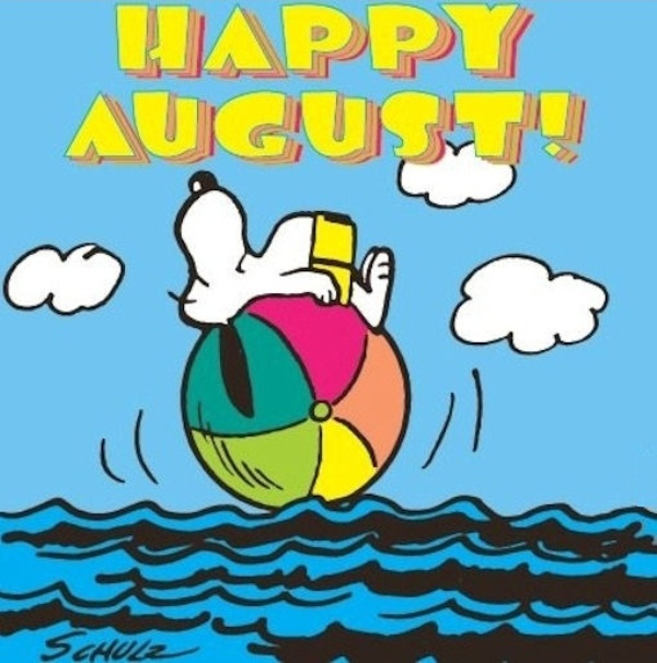 Happy August Images