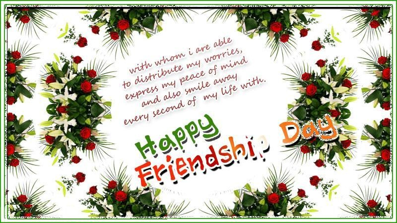 Happy Friendship Day Greeting Cards For Best Friend
