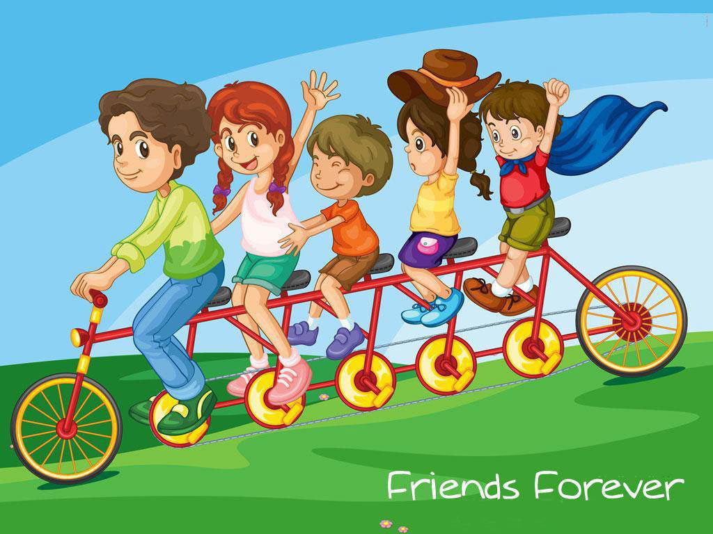 Happy Friendship Day Wallpapers For Kids