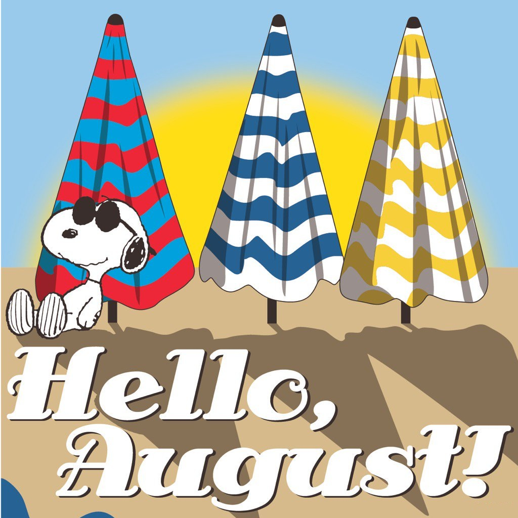 Hello August Cartoon Images