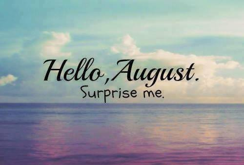 Hello August Images 2018
