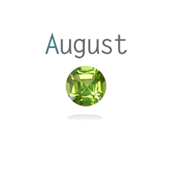 Month of August Birthstone