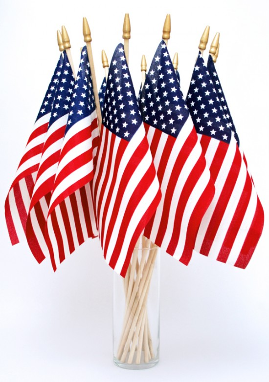 Online Happy 4th Of July Flag