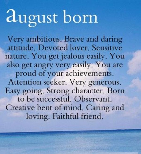 Quotes August Month