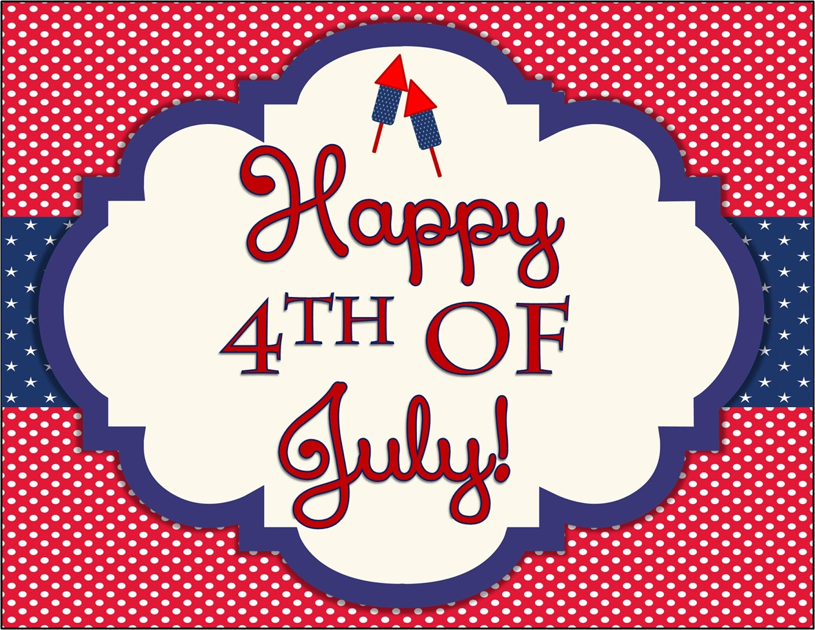 Save 4th Of July Banner Free Image