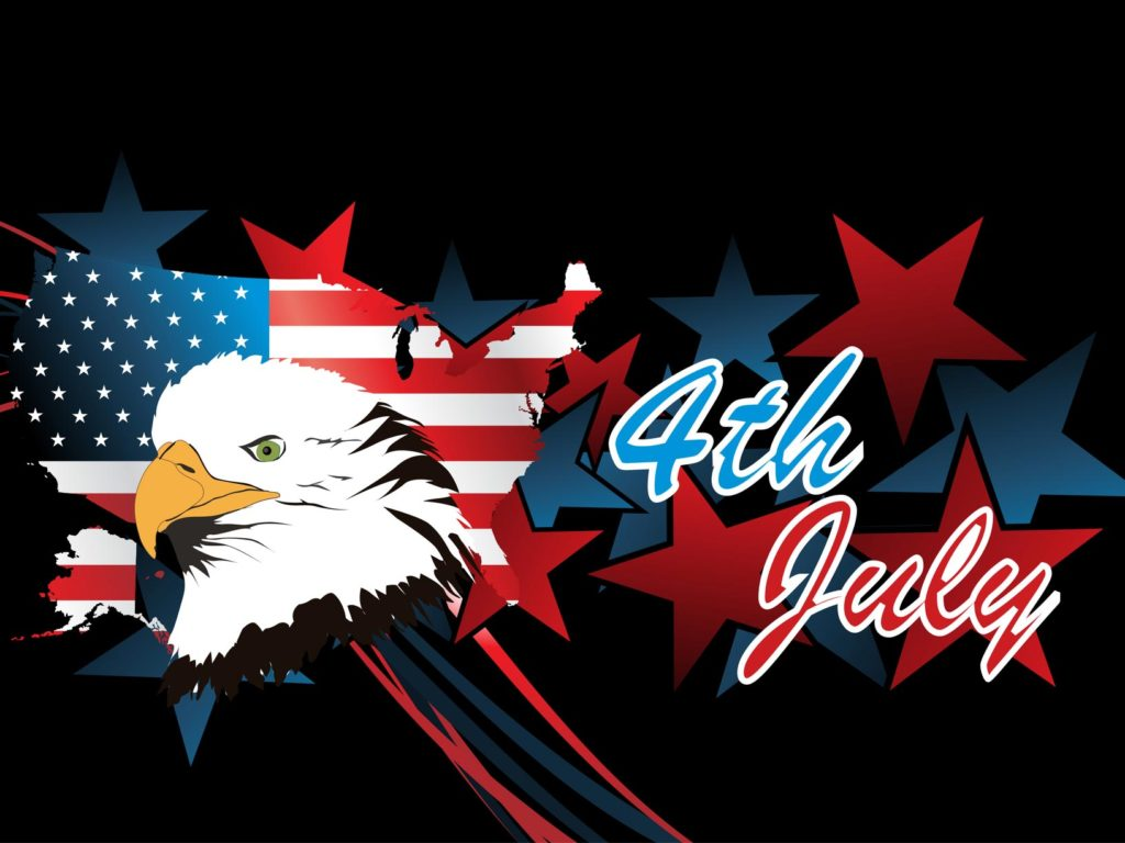 Special 4th July Wishes With Logo