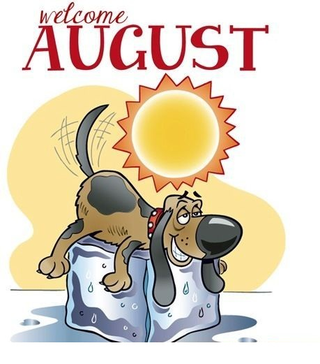 Welcome August Clipart Images