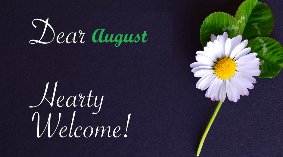 Welcome August Images HD