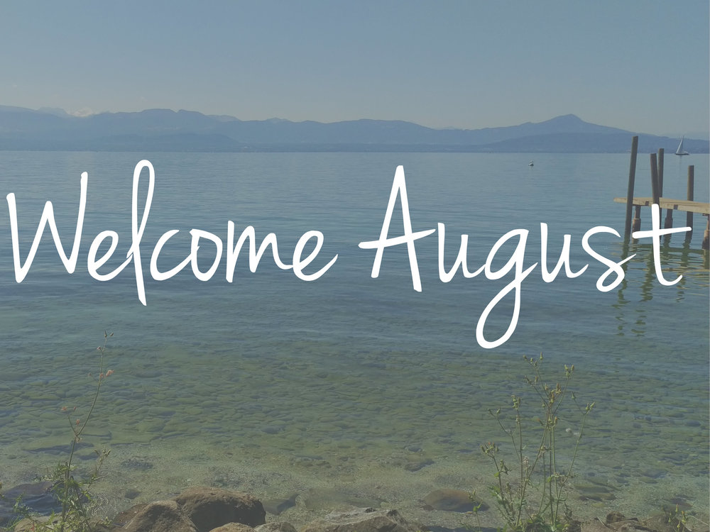 Welcome August Month Images