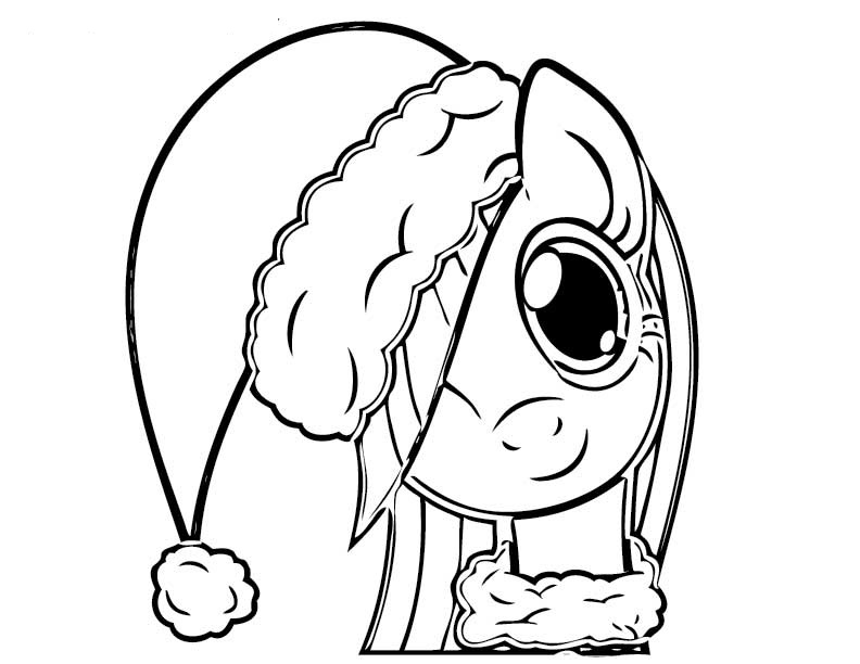 Cute My Little Pony Coloring Pictures