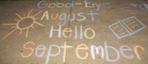 Goodbye August Hello September Pinterest