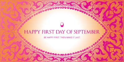 Happy First Day September Images