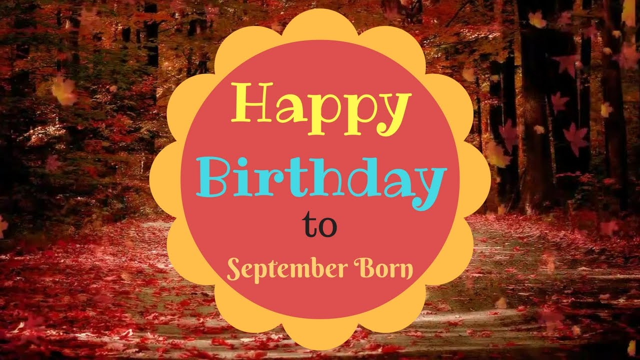 Happy September Birthday Images
