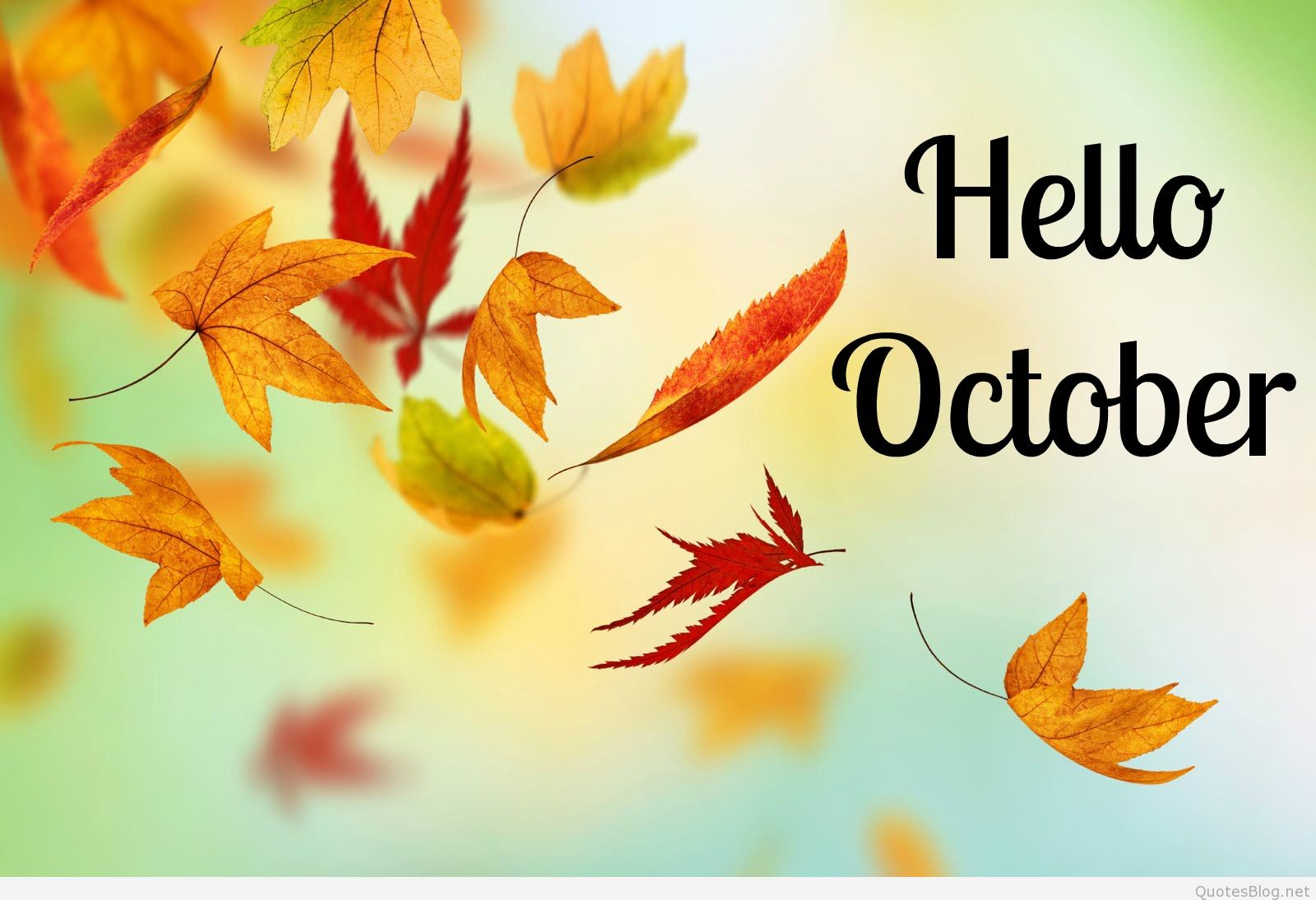 Hello October Images Pictures