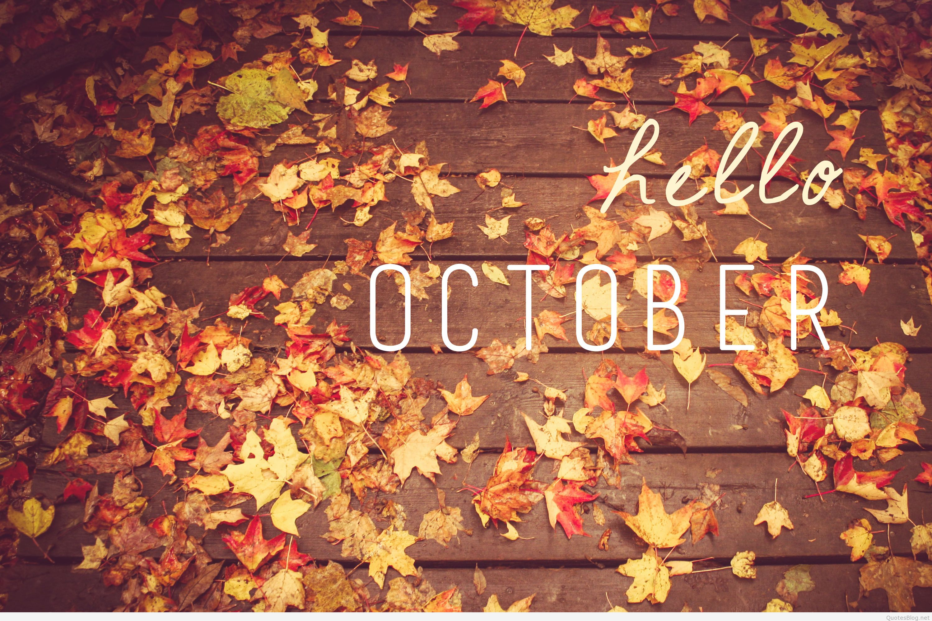 Hello October Images for Facebook