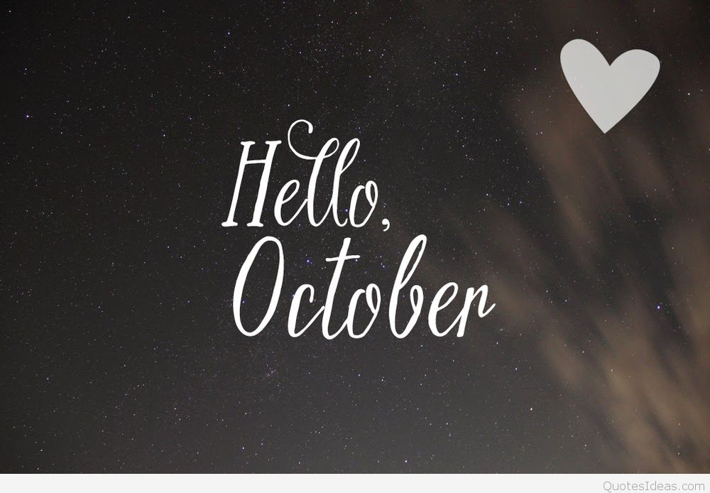 Hello October Love Pictures