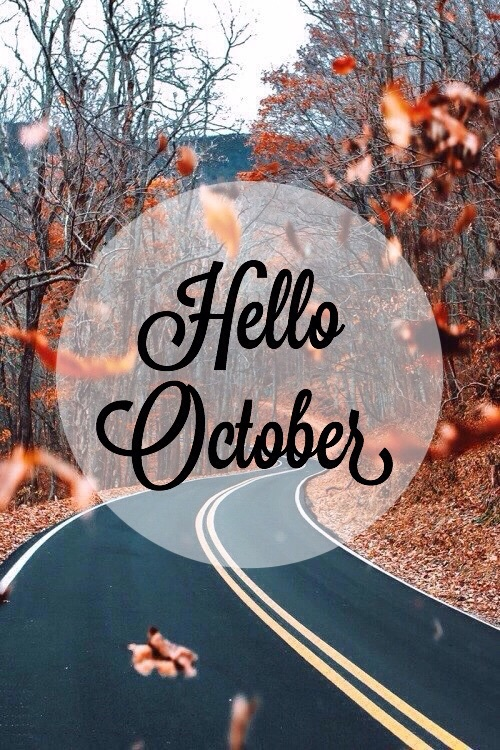 Hello October Mobile Wallpaper