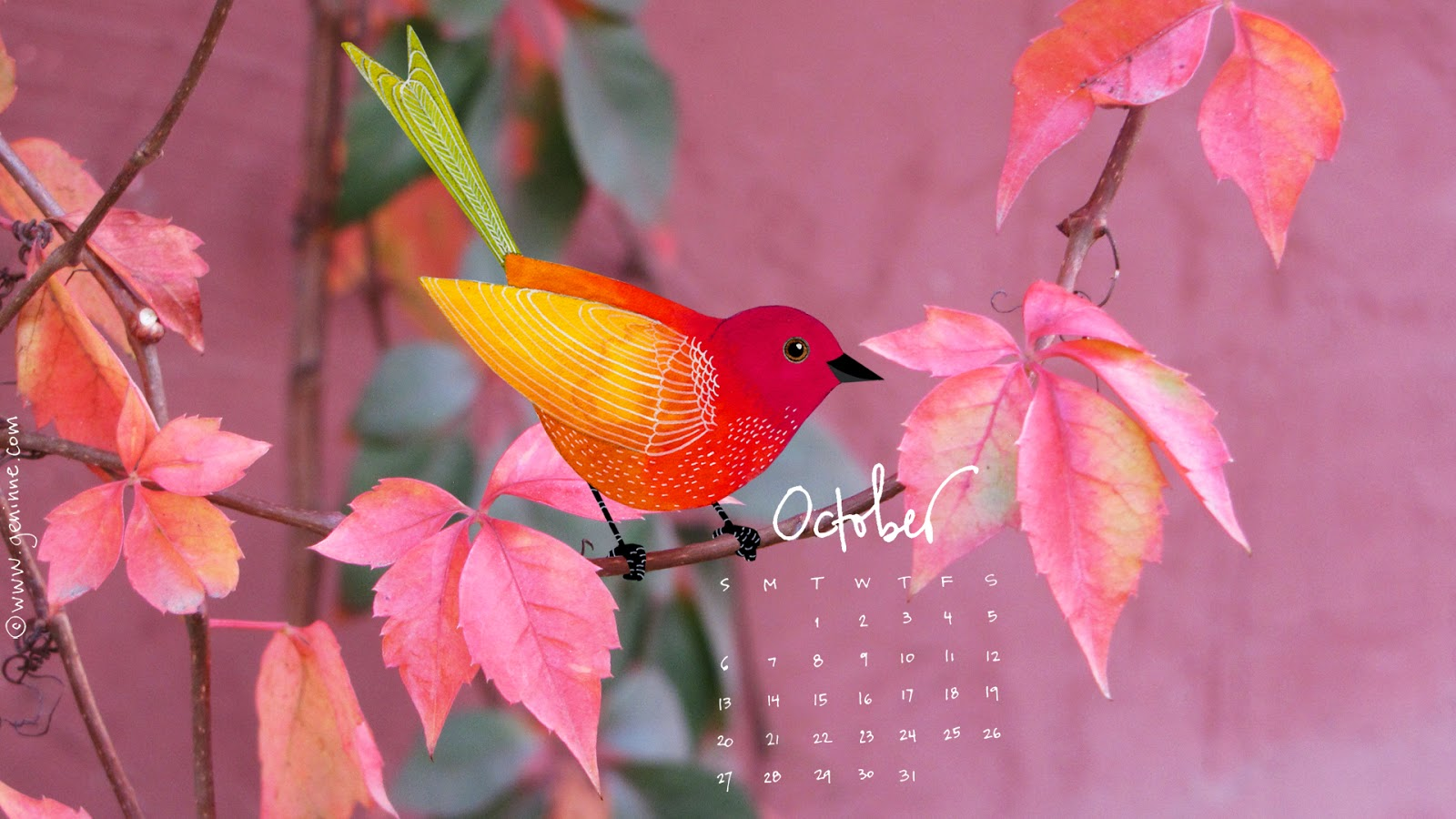 Hello October Wallpaper HD