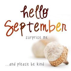 Hello September Month Quotes