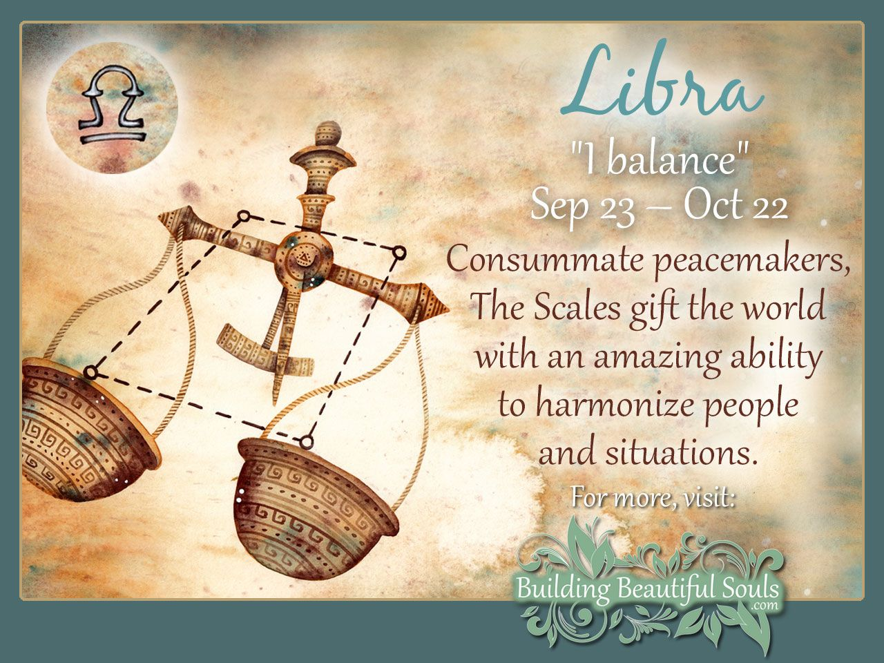 Libra Zodiac Star Sign Traits Personality Description