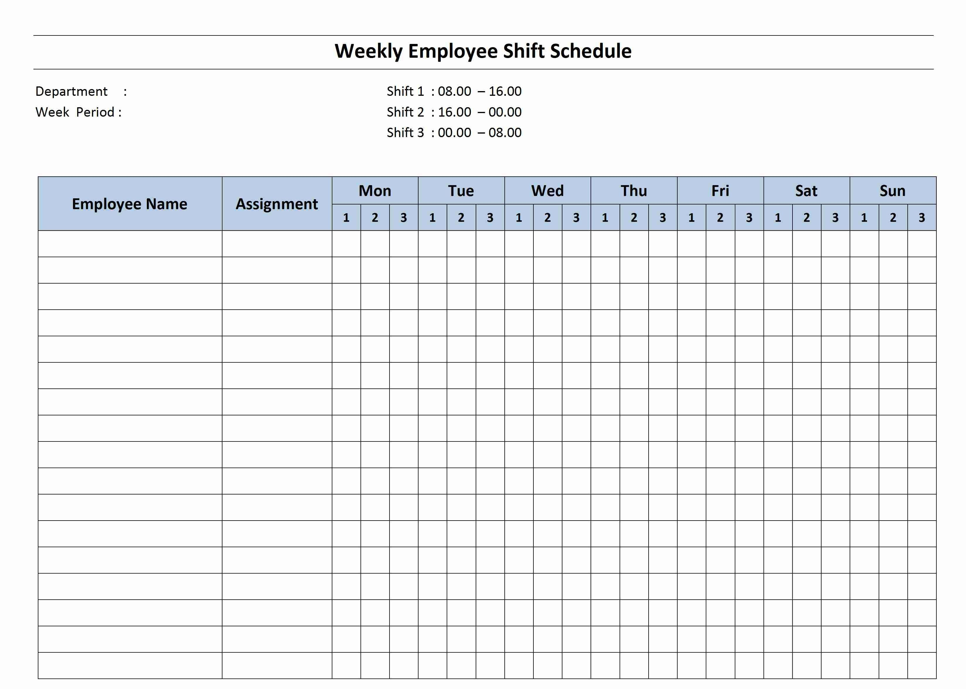 Monthly Calendar Template Planner Download