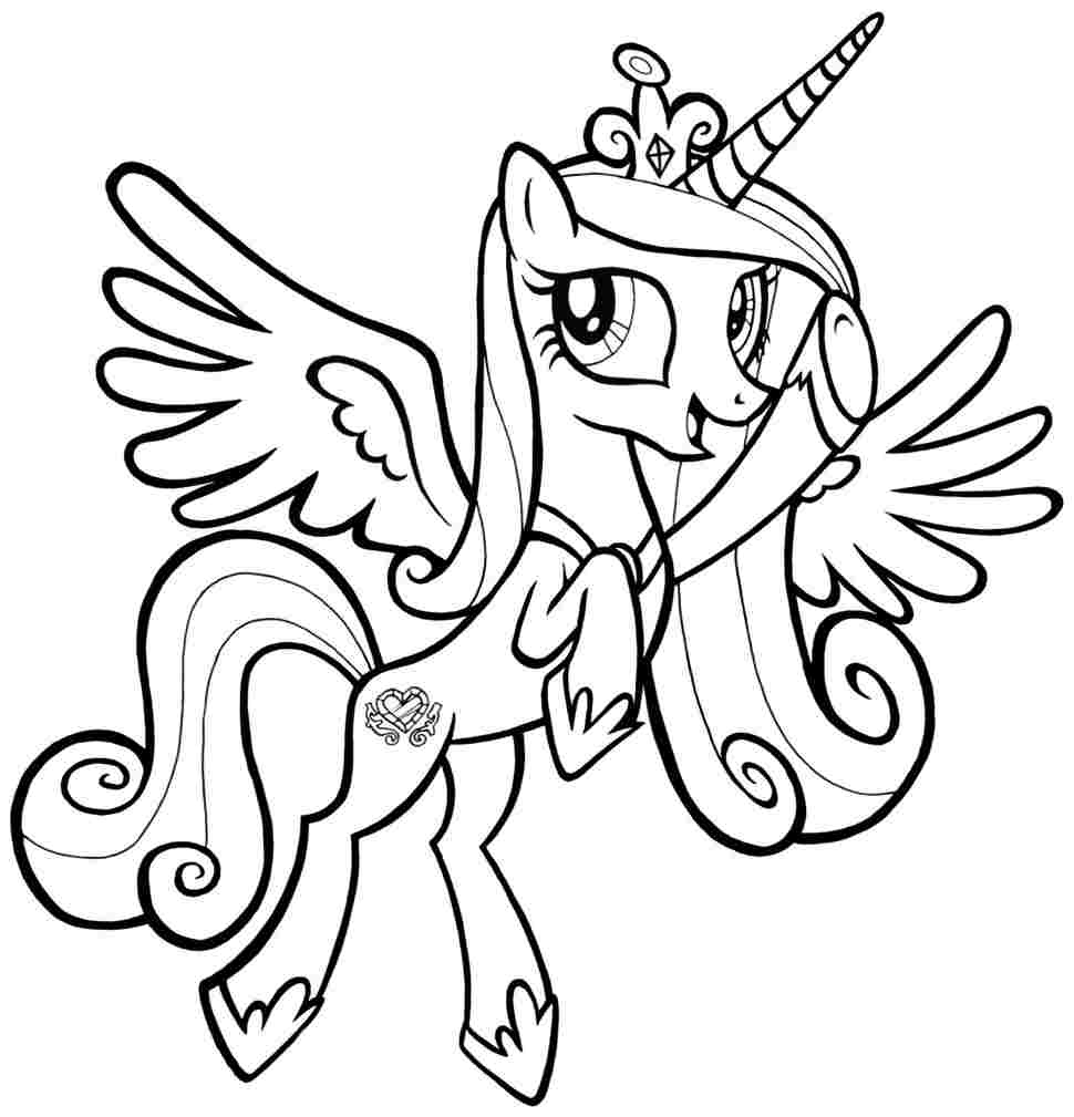 My Little Pony Coloring Pictures MLP