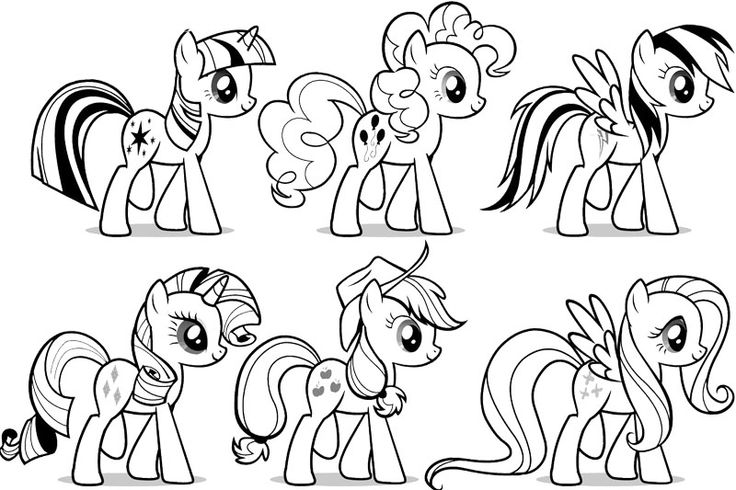 My Little Pony Coloring Pictures Printable
