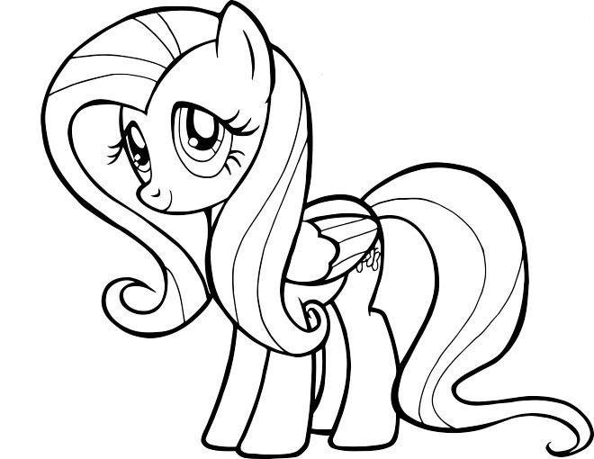 My Little Pony Coloring Pictures To Color