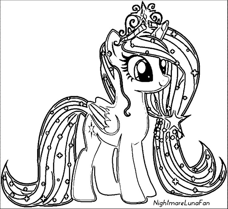 My Little Pony Coloring Pictures