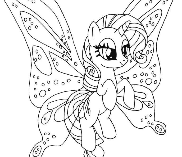 My Little Pony Colouring Pages