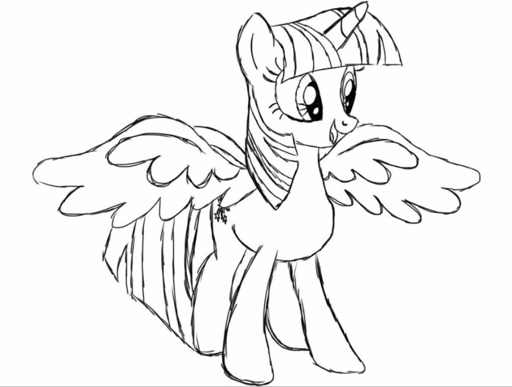 Princess My Little Pony Coloring Pages